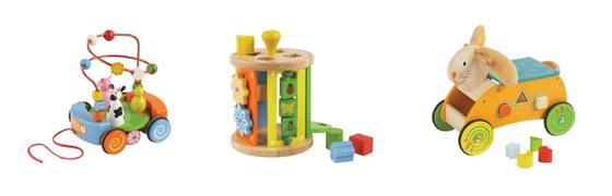 PrimiPassi houten speelgoed